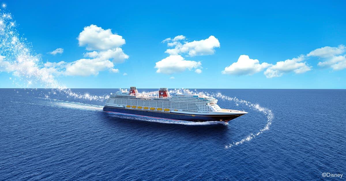 The Disney Wish sets sail in June 2022.