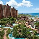 A beautiful view of Aulani, A Disney Resort & Spa